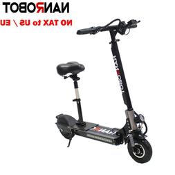 NANROBOT D4+1.0  Foldable Electric Scooter with Seat  2000W