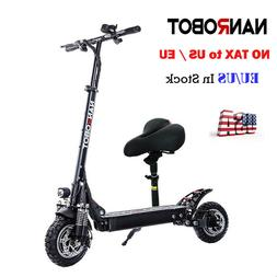 NANROBOT D4+ 2.0 2000W Electric Scooter With Seat  Adult  Ma