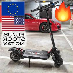 NANROBOT D4+ 2.0 ELECTRIC SCOOTER FAST POWERFUL 2000W FREE U