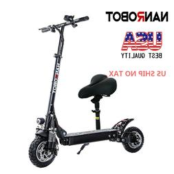 NANROBOT D4+2.0  Foldable Electric Scooter With Seat  2000W