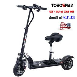 NANROBOT D5+ 2.0 Adult Electric Scooter 2000W Speed 40MPH Wi