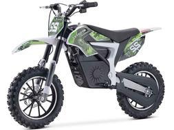 MotoTec Demon Electric Dirt Bike 500w 36v Lithium Green