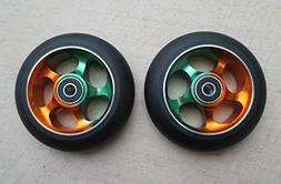 DropIn Scooters DIS 100mm Soft Landing Metal Core Wheels 5-S
