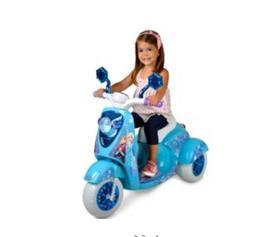 Disney Frozen 3 Wheel Scooter Ride Toy Girl Bike Electric Ba