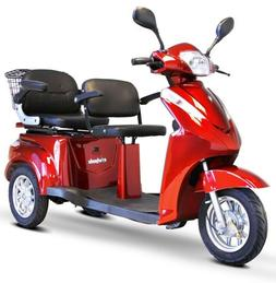 E-Wheels EW-66 Two Passenger Recreational Mobility Scooter +