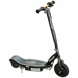 e100 glow electric scooter black