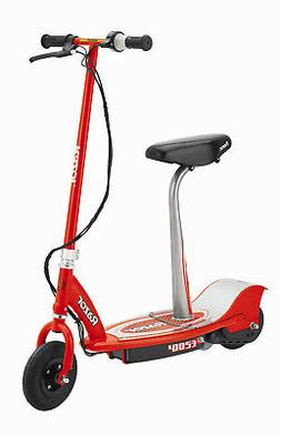 Razor E200S Seated Electric Scooter, Red