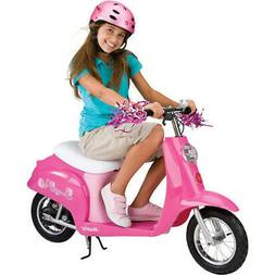 Electric Scooter for Girls Battery Powered Motorized Motorcy