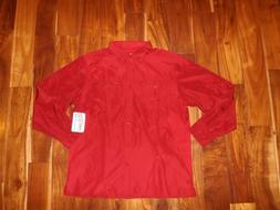 REEL LIFE Elite Angler Scooter Red Convertible Sleeve Relaxe