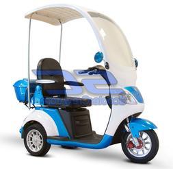 EW-44 Electric Powered Scooter Canopy Windshield Trike 800 W