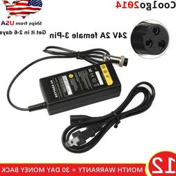 Fast Battery Charger for Razor E Series Electric Scooters 24
