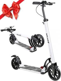 VOKUL Foldable Kick Scooter for Adults Teens Kids with Big 2