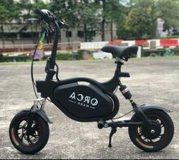foldable seated e scooter