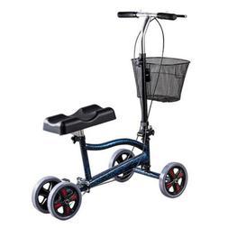 Foldable Steerable Medical Knee Walker Scooter Crutch Turnin