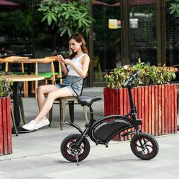 Folding 350W Electric Bicycle E Bike Scooter 36V W/12 Mile R