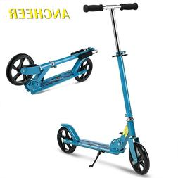 Folding Kick Scooter for Kids Adult Teen 3 Levels T-Style 35