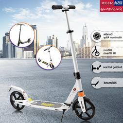 Folding Kick Scooter Outdoor Adult Ride Portable Lightweight