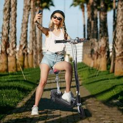 Folding Rechargeable 24V Electric Powered Scooter 120W High-