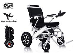 Foldable Electric Wheelchair For Adults Lightweight Power Wh