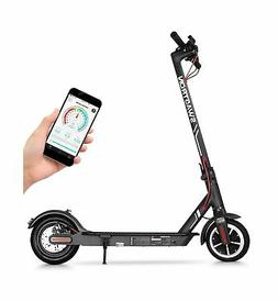 """Swagtron High Speed Electric Scooter with 8.5"""" Cushioned Tir"""