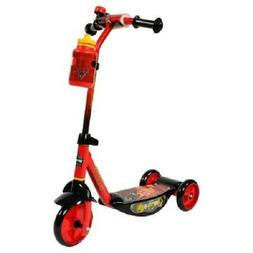 """Huffy Cars 6"""" Scooter with lit deck"""