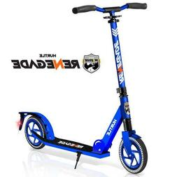 Hurtle HURTSBU Lightweight and Foldable Kick Scooter with Hi