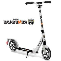 Hurtle HURTSWH Lightweight and Foldable Kick Scooter with Hi
