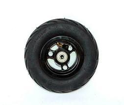 "6x2 inflation tire wheel use 6"" tire alloy hub 160mm pneumat"