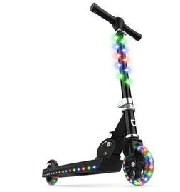 Jetson Jupiter Kick Scooter with LED Light-Up Deck, Stem, an