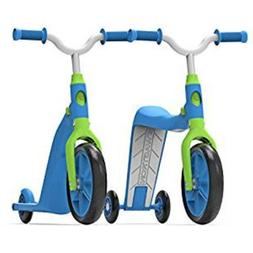 Swagtron K6 Toddler Scooter Convertible 4in1 Ride-On Balance