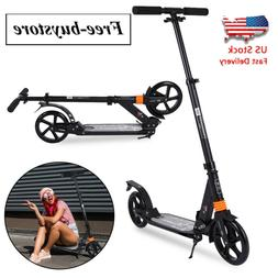 Kick Scooter Foldable Scooter For Adult Kids Portable Ride A