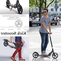Kick Scooter Folding Aluminium Outdoor All Street Push Ride