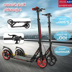 Kick Scooter Lightweight 2 Wheel Foldable Kids Adult Ride Ad
