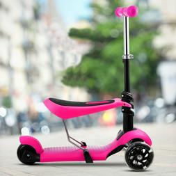 Kick Scooters Lascoota 2-in-1 For Kids With Removable Seat G