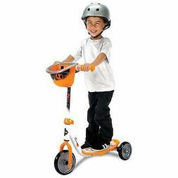 Huffy Kids 3-Wheel  Scooter with Handlebar Bin, BB8 NEW