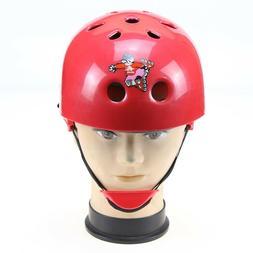 Kids Girl Protect Helmet Bicycle Bike Cycling Scooter Ski Sk