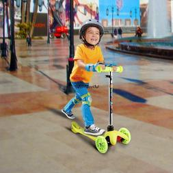Kids Kick Scooter 3 Wheels Toy for Girls Boys Outdoor Skate