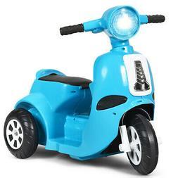 Kids Ride On Bike 6V Electric Motorcycle Trike Toddler Scoot