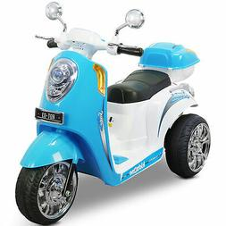 Kids Ride-on Scooter Toy Bike Motorbike 6V Battery Electric
