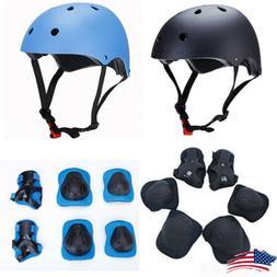 For Kids Skateboard Helmet Protective Gear Set For Skate BMX