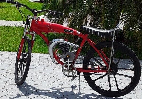 100cc 2 Stroke YD100 Motorized Motor Complete
