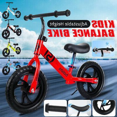 12'' Children Balance Bike No Bicycle Scooter Gift