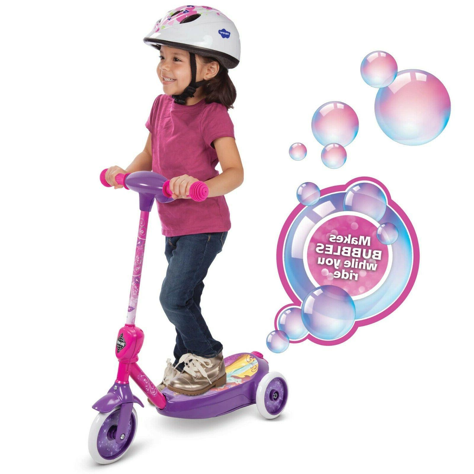 3-Wheel Ride-On Toys Scooter Fun Play Pink