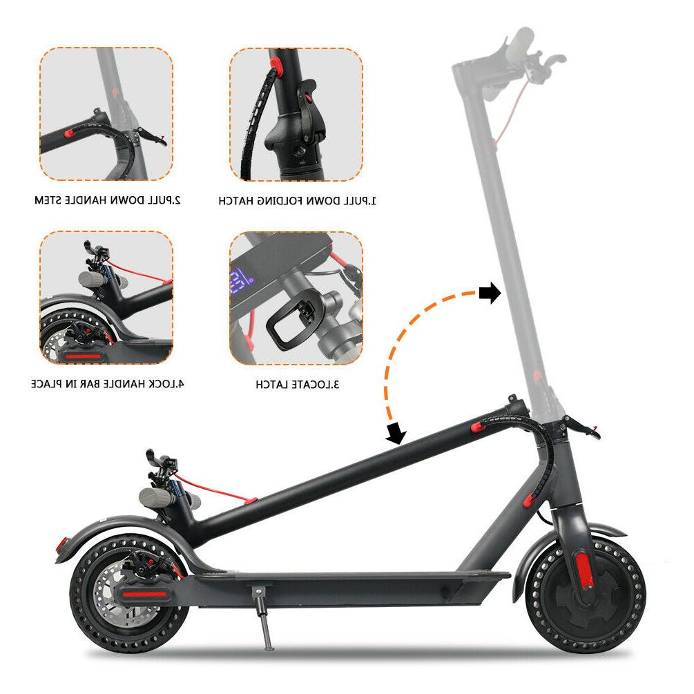 300W Foldable Scooter, 15.8 Control