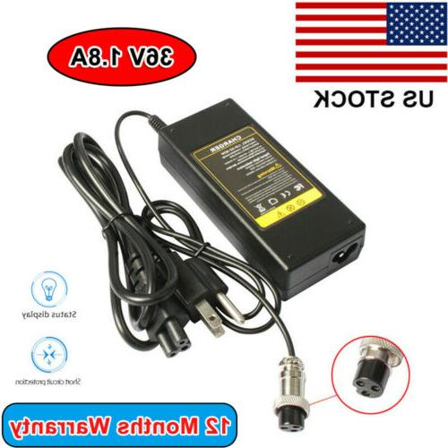 36v battery electronic scooter charger for razor