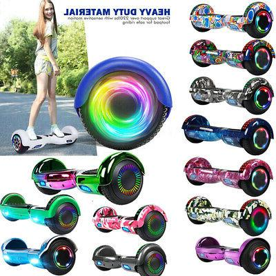 bluetooth electric scooter hoverboad balance hubber led