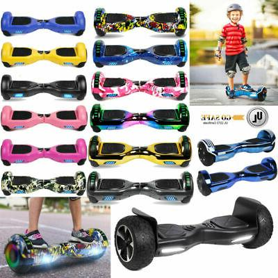 """6.5/8.5"""" Two-Motor Bluetooth Hoverboard Off Road Self Balanc"""