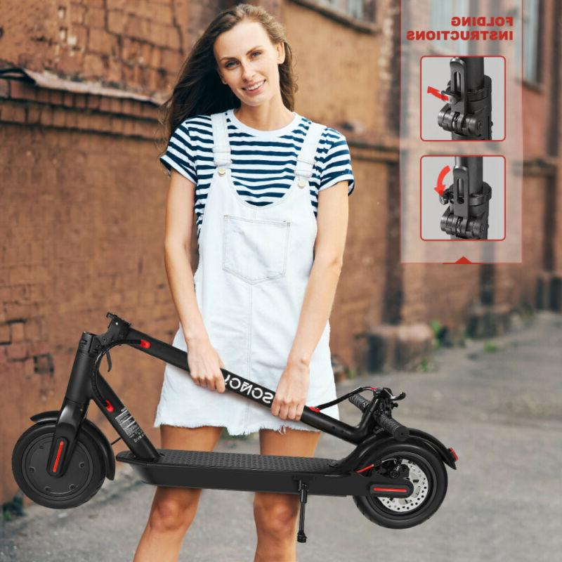 "8.5"" Folding Wheels Electric Scooter Riding Kick"