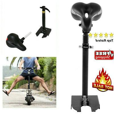 adjustable electric scooter comfort seat saddle