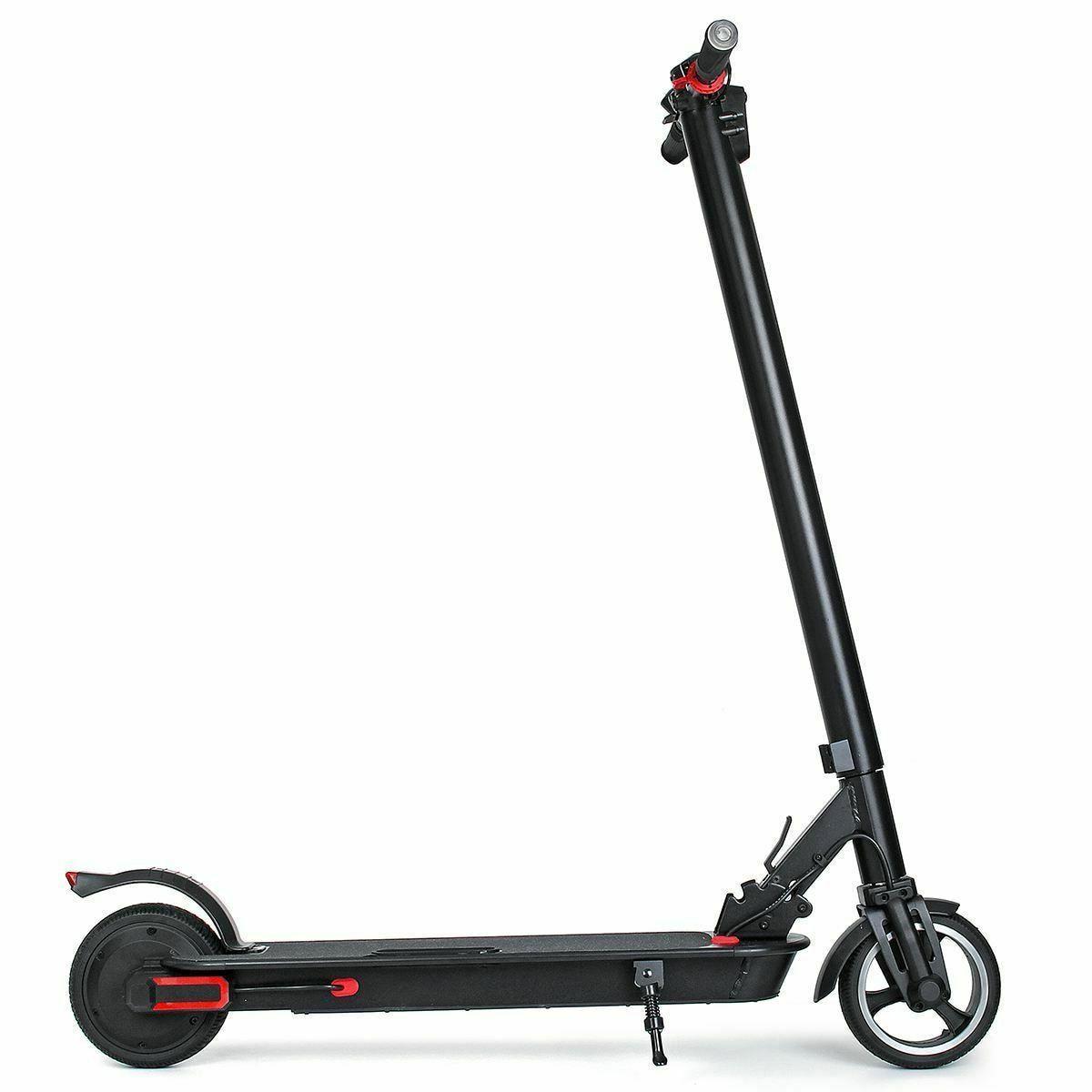 Adult Electric Scooter 100-240V 350W Black /White Folding El